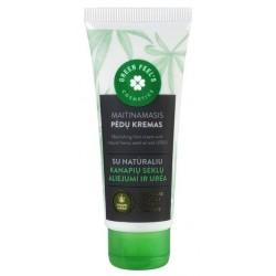 Green Feel`s Nourishing Food Cream krem do stóp olej konopi i mocznik 75ml