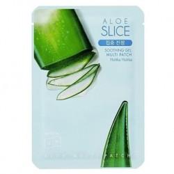 Holika Holika Aloe Slice Soothing Gel Multi Patch maseczka w plastrach z aloesem 1szt