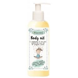 Nacomi Body Oil olejek dla kobiet w ciąży 140ml