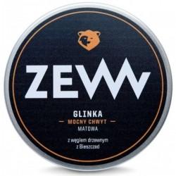 Zew For Men Glinka mocny chwyt matowa z Węglem Drzewnym z Bieszczad 100ml