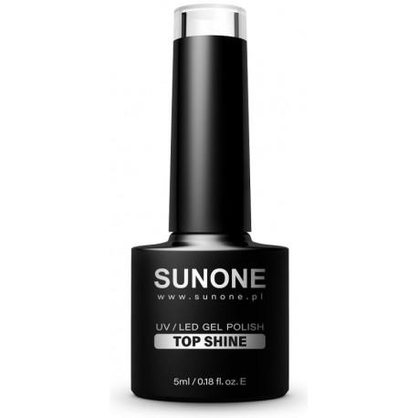 Sunone UV/LED Gel Polish Top Shine top hybrydowy nadający połysk 5ml
