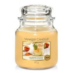 Yankee Candle Med Jar średnia świeczka zapachowa Calamansi Cocktail 411g