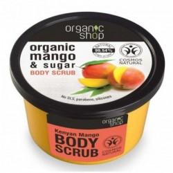 Organic Shop Organic Mango & Sugar Body Scrub peeling do ciała o zapachu mango 250ml