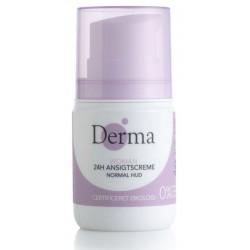 Derma Eco Woman 24H Ansigtscreme Krem do twarzy do cery normalnej 50ml