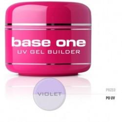 Silcare Gel Base żel budujący do paznokci One Violet 30g