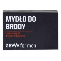Zew For Men Mydło do brody zawiera węgiel drzewny z Bieszczad 85ml