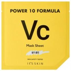 It`s Skin Power 10 Formula Mask Sheet VC rozjaśniająca maska w płachcie z witaminą C 25ml