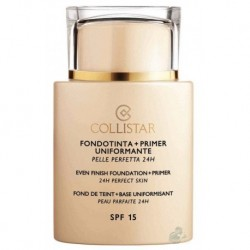 Collistar Even Finish Foundation+Primer 24h SPF15 Podkład z bazą 01 Ivory 35ml