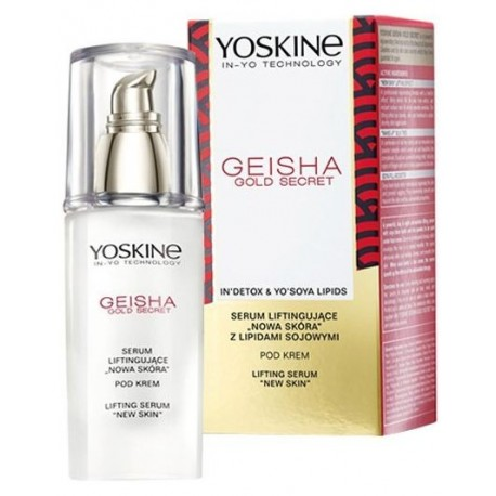 Yoskine Geisha Gold Secret serum liftingujące pod oczy nowa skóra pod krem 30ml