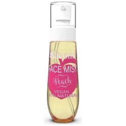 Nacomi Face Mist Vegan Natural Peach mgiełka do ciała i twarzy o zapachu Brzoskwini 80ml