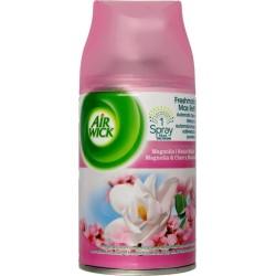 Air Wick Freshmatic Refill Wkład do automatycznego odświeżacza powietrza Magnolia i Kwiat Wiśni 250ml
