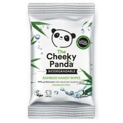 The Cheeky Panda Bamboo Handy Wipes bambusowe chusteczki nawilżające 12szt