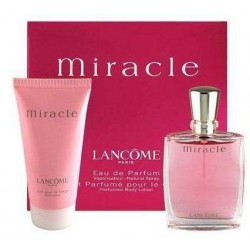 Lancome Miracle Woda perfumowana 50ml spray + Balsam do ciała 50ml