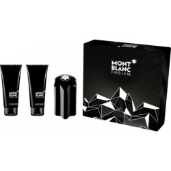 Mont Blanc Emblem Woda toaletowa 100ml spray + Balsam po goleniu 100ml + Żel pod prysznic 100ml