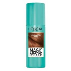 L`Oreal Magic Retouch Błyskawiczny retusz odrostów w sprayu Mahoniowy Brąz 75ml
