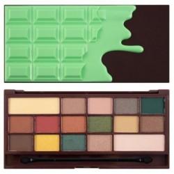 Makeup Revolution Chocolate Mint Paleta 16 cieni 22g