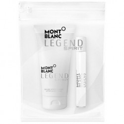 Mont Blanc Legend Spirit Woda toaletowa 7,5ml spray + Balsam po goleniu 50ml + Kosmetyczka