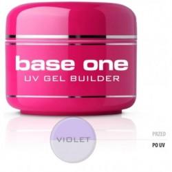 Silcare Gel Base żel budujący do paznokci One Violet 50g