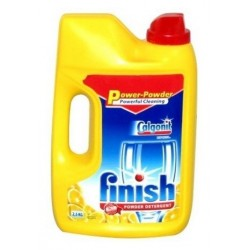 Finish Classic Pwer Powder proszek do mycia naczyń w zmywarce Lemon 2500g
