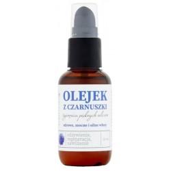 Bioelixire Serum z czarnuszką Filtr UV Odżywione elastyczne włosy 50ml