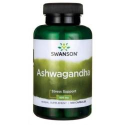 Swanson Ashwagandha 450mg suplement diety 100 kapsułek