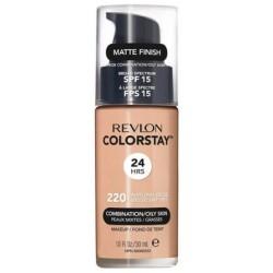 Revlon ColorStay With Pump Makeup Podkład z pompką do cery tłustej i mieszanej 220 Natural Beige 30ml