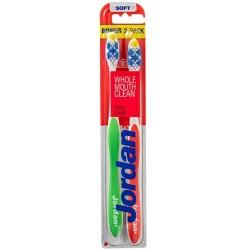 Jordan Total Clean szczoteczka do zębów Miękka 2szt