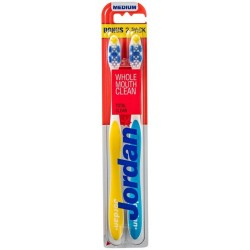 Jordan Total Clean szczoteczka do zębów Średnia 2szt