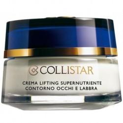 Collistar Crema Lifting Supernutriente Contorno Occhi e Labbra Superodżywczy krem liftingujący okolice oczu i ust 15ml