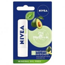 Nivea 24H Mett-In Moisture pielęgnująca pomadka do ust Avocado 4,8g