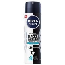 Nivea Men Black&White Invisible Fresh antyperspirant 150ml spray