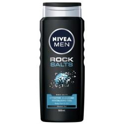 Nivea Men Rock Salts żel pod prysznic do twarzy, ciała i włosów 500ml