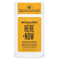 Schmidt`s Here + Now Natural Dezodorant Roll-on dezodorant w sztyfcie 58ml