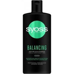 Syoss Balancing Shampoo szampon do włosów zachowujący równowagę 440ml