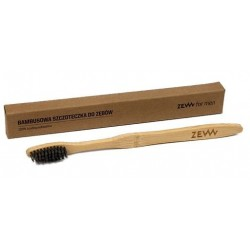 Zew For Men Bambusowa szczoteczka do zębów dla dorosłych 100% biodegradowalna