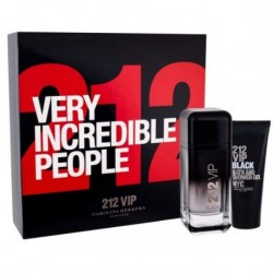Carolina Herrera 212 VIP Men Black Woda perfumowana 100ml spray + Żel pod prysznic 100ml