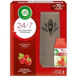 Air Wick Life Scents Dyfuzor + Bateria AA 2szt + Wkład Soczyste Owoce Leśne 250ml
