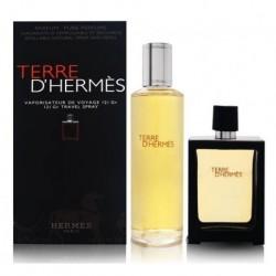 Hermes Terre d` Hermes Perfumy 30ml spray + Perfumy 125ml wkład