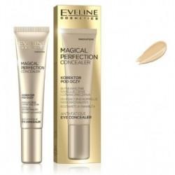 Eveline Magical Perfection Concealer korektor pod oczy niwelujący cienie i oznaki zmęczenia 01 Light 15ml