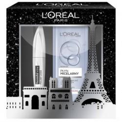L`Oreal False Lash Bambi tusz do rzęs Black 8,9ml + płyn micelarny 400ml