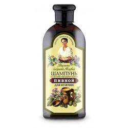 Bania Agafii Piwny szampon dla mężczyzn na bazie mydlnicy lekarskiej 350ml