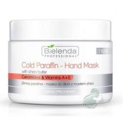 Bielenda Professional Cold Parafin - Hand Mask Zimna parafina - maska do dłoni z masłem shea 150g