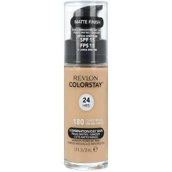 Revlon ColorStay With Pump Makeup Podkład z pompką do cery tłustej i mieszanej 180 Sand Beige 30ml