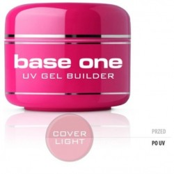Silcare Gel Base maskujący żel UV do paznokci One Cover Light 30g