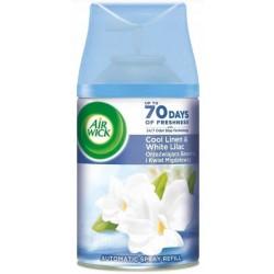 Air Wick Freshmatic Refill Wkład do automatycznego odświeżacza powietrza Orzeźwiająca Bawełna i Kwiat Migdałowca 250ml