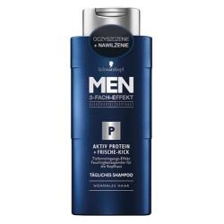 Schwarzkopf Men Shampoo Active Protein Fresh Control szampon do włosów do codziennego stosowania 250ml