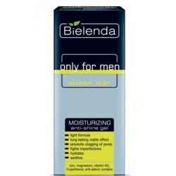 Bielenda Only For Men Super Mat żel nawilżający przeciw błyszczeniu 50ml