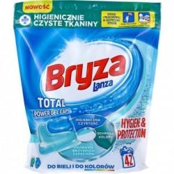 Bryza Hygiene & Protection Gel Caps Kapsułki do prania do bieli i kolorów 42szt