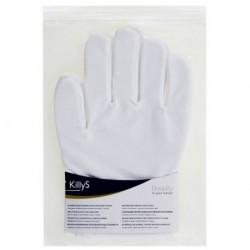 Killy`s Bawełniane rękawiczki do pielęgnacji dłoni 2szt