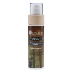 Shy Deer Charcoal Face Wash Gel For Men żel do mycia twarzy z węglem dla mężczyzn 100ml